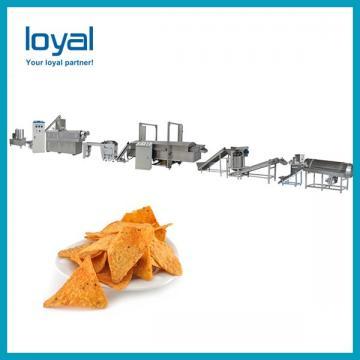 Fried wheat flour snacks food process line