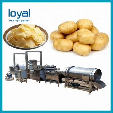 Industrial Stainless Steel Oil Fried Potato Chip Machine for Sale
