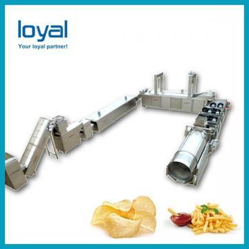 Automatic Commercial Potato Chip Maker , Fryer French Fries Potato Chips Production Line
