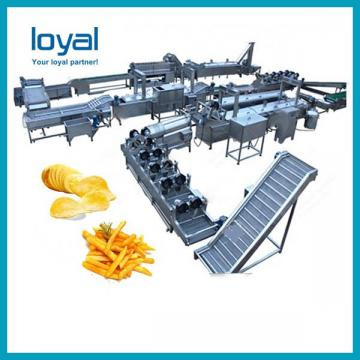 Stainless Steel Made Full Automatic Baked Potato Chips Production Line