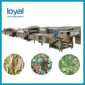 Automatic Potato Chips Production Line Frozen French Fries Potato Chips Machines