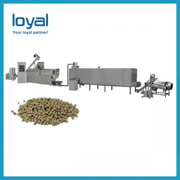Farm Small Scale Fish Food Extruder Machine With PLC Electrical Control